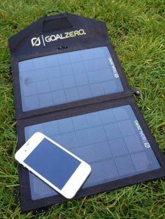 Goal Zero – Guide 10+ Adventure Kit Solar Charger | GearWeAre.com