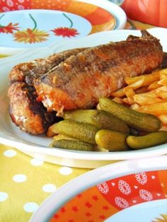 Sült hekk Fish Recipes, Cake Recipes, Fish Soup, Muffin, Hungarian Recipes, Fish And Chips, Fish Dishes, Food Art, Stew
