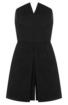 Love this notched neck romper for summer