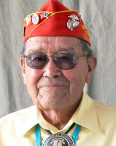 Frank Chee Willeto, a Navajo Code Talker and former Navajo Nation vice president