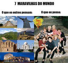 AS 7 MARAVILHAS MAIS GOSTOSAS DO MUNDO!!!