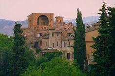 Summer Evening    San Gimignano