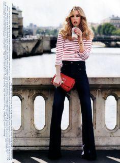 Vogue Paris September 2007, Raquel Zimmerman