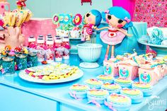 Mesa de doces Lalaloopsy