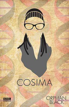 Cosima - Minimalism Orphan Black Orphan Black, Orange Is The New Black, Back To Black, Happy Little Pill, Fanart, Tatiana Maslany, Fantastic Voyage, Stream Of Consciousness, Geek Squad