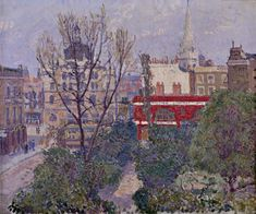 Spencer Gore 'Mornington Crescent' 1911