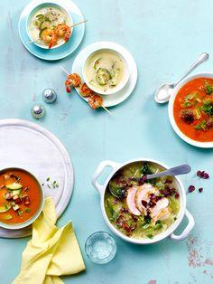 Unsere Low Carb Suppen enthalten die ideale Kombination für erfolgreiches Abnehmen: reichlich Eiweiß, wenige Kohlenhydrate, viele