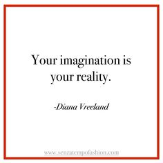 Inspiration from Diana Vreeland