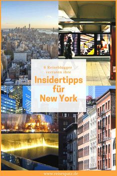 Reiseblogger verraten ihre Insidertipps für einen Städtetrip nach New York. Welche Sehenswürdigkeiten in New York lohnen sich, was sollte man auf keinen Fall in New York verpassen.