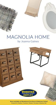 We have been longtime fans of Joanna Gaines, and we love her selection of Magnolia Home goods. What started as a small range of throw pillows, blankets, and rugs, has turned into a substantial assortment of home furnishings. Visit our blog or one of our Atlanta area furniture stores to discover our favorite new Magnolia Home pieces!