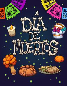 Mexico Day Of The Dead, Day Of The Dead Art, Vintage Halloween, Happy Halloween, Illustration Simple, Day Of Death, All Souls Day, Mexican Holiday, Holiday Day