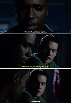 Teen Wolf 6x13 - Do you know what an after image is?