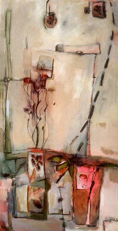 abstract travel sketch - wonderful way to capture a street scene (Anne-Laure Djaballah, Jenny)