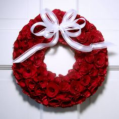 Red Rose Wreath - Creative Decorations by Ridgewood Designs