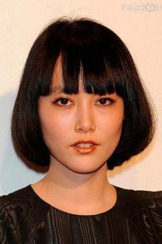 Miwako Shimizu as Rinko Kikuchi Pretty Cool, Pretty Face, Nice, Beautiful Asian Women, Beautiful People, Rinko Kikuchi, Japanese Drama, Celebs, Celebrities
