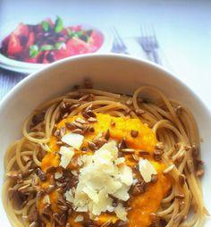 Dýňová omáčka na těstoviny Fusilli, Chutney, Japchae, Ramen, Chili, Salsa, Spaghetti, Low Carb, Soup