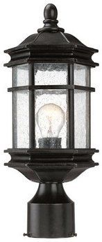 Dolan Designs 9233-68 Barlow - One Light Outdoor Post Lantern, Winchester by Dolan Designs. $61.28. Dolan Designs offers some of the finest styles and finsihes available in home lighting today, allowing you to create a deistinctive look for your home without sacrificing affordability.Simple clean, and classic designs to complement a wide variety of decorating styles are the hallmarks of Dolan Designs.