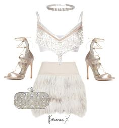 """Untitled #3305"" by breannamules ❤ liked on Polyvore featuring By Malene Birger, Rodarte, Stuart Weitzman and Marchesa"