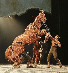 """the amazing """"Joey"""" puppet from the War Horse stage play"""