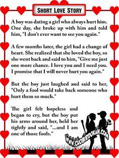 short romantic love stories