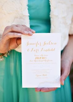 Glamorous Mint & Gold Wedding Inspiration // Hostess with the Mostess® Mint Gold Weddings, Blue Wedding, Wedding Inspiration, Design Inspiration, Wedding Ideas, All You Need Is Love, Special Day, Wedding Mints, Wedding Decorations