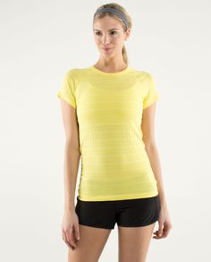 Lululemon Run: Swiftly Tech Short Sleeve ~ Sizzle ~ ♥♡♥
