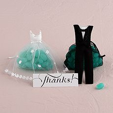 Bride and Groom Candy #favor Bags