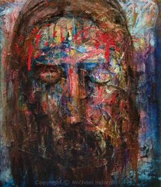 My all time favorite painting by Indorato. I love this. Ecce Homo :: Michael Indorato