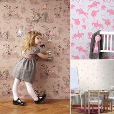Kid-Friendly Wallpaper Designs
