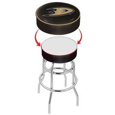 Anaheim Ducks NHL Bar Stool Seat Cover