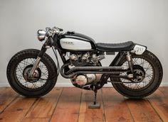 Beautiful classic Honda.