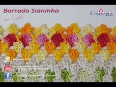 Barrado de Crochê Sianinha - Professora Simone