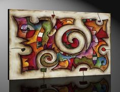 Quadra By Eric Waugh Mounted Laminated Art 56 X 43 Arte Van Gogh, Painting Inspiration, Collage Art, Sculpture Art, Cool Art, Art Drawings, Art Projects, Art Pieces, Original Paintings
