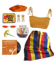 """the smiths"" by silkwitch on Polyvore featuring Gentle Monster and Made By Dawn"