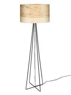 Stehlampe FLAME 46/26FC von Sponn Design auf DaWanda.com