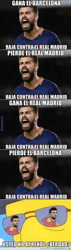 757643 - Se lo pasa en grande con el Madrid pierde el real madrid... raja del real madrid... empata el real madrid,, raja del real madrid...