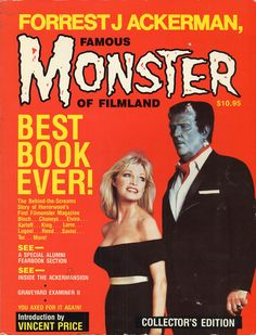 Forrest J Ackerman's 1986 autobiography, the cover based on Famous Monsters of Filmland Number One.