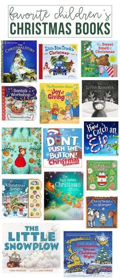 our favorite children's christmas books