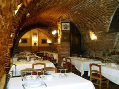 Botin - The oldest restaurant in the world, opened in 1725. Madrid, Spain.