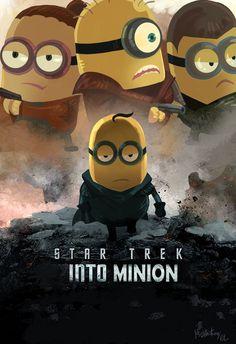 Star Trek Into Minion by Mushstone.deviantart.com on @DeviantArt