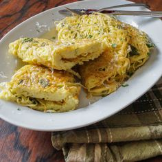 Froga tat-Tarja is a pasta omelette from Malta. Malta is a small country in the Mediterranean. MALTESE VERMICELLI OMELET