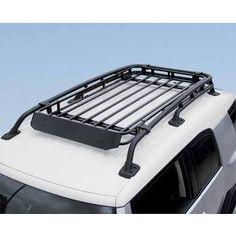 fj cruiser roof rack basket ideas - Google Search