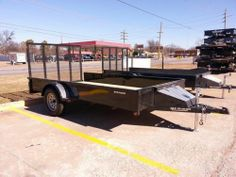 "NEW 76"" x 12' Stealth Utility Trailer with Ramp Gate, Toolbox #powdercoated  #Tulsa #brokenarrow #hitchit #trailersales #trailer ONLY Northeast Oklahoma Trailer Dealers for Lark, Haulmark, Rice and Big Tex Trailers!  Hitch It Trailers, Parts, Service & Truck Accessories 305 W. Kenosha, Broken Arrow, OK 74012 918-286-7900 www.HitchItBA.com www.facebook.com/hitchit www.facebook.com/tulsatrailersales"