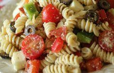 Pizza Pasta Salad | Weight Watchers Recipes