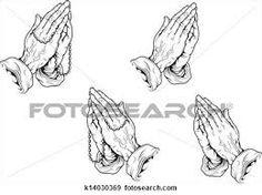 tatuagem mao rezando para nossa senhora
