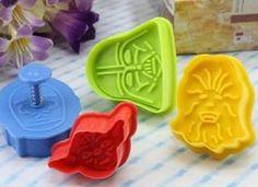 Star Wars Cookie Cutters Plätzchenformen Keks Ausstechformen - Multicoloured
