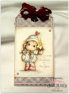 Cards by Barbara: Clean & Simple or Fussy & Fancy