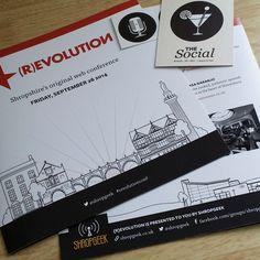 #REvolutionConf Drawings by Stina Jones | www.stinajones.co.uk