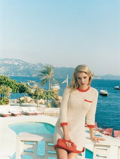 up with a vintage campaign with a decidedly sixties feel. For the 2012 Spring-Summer campaign, the Paule Ka woman is on vacation in Acapulco, the beach resort of the sixties jet-set.