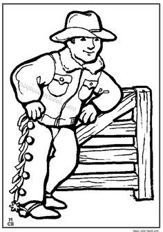 the 28 best cowboy coloring pages images on pinterest coloring